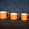 Кружка «Corone Caffetteria» 200 мл оранжевый